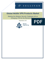 Frost and Sullivan Global Mobile VPNs Abridged
