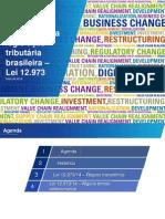 Alterações Tributárias - KPMG e ANEFAC 2014
