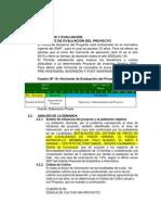 Formulación y Evaluación Lucle