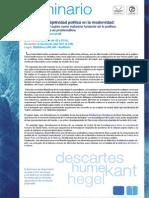 Seminario Idealismo y Subjetividad Baccarelli