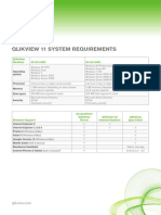 QlikView 11 System Requirements
