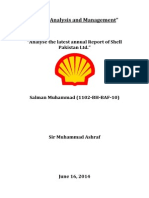Financial Analysis Shell Pakistan