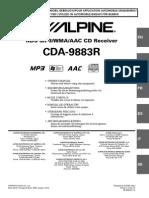 Alpine Cda-9883r Es