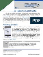 Upload Xls Sheet in AutoCAD