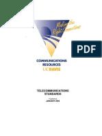 Cr Telecommunications Standards Jan 2004