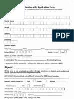 3zzz Membership Form