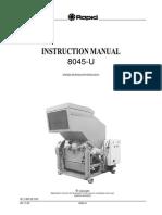 Rapid Granulator Manual