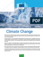 European Commission Climate Change Fact Sheet