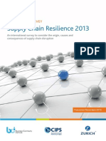 Bci Supply Chain Resilience 2013 En