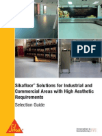 Sikafloor Solutions for Industrial and Commercial Areas