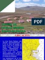 Capitulo II Cierre Unidad Minera Santa Barbara