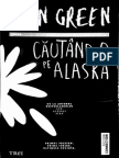 Cautand-o pe Alaska de John Green