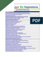 Relación de Libros de Ingeniería