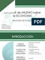Informe de Milenio Sobre La Economia