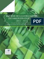 Ba;Lance Sobre La Corrupocion 2011-2012