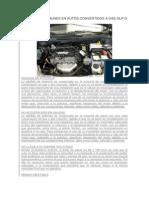 Problemas Comunes en Autos Convertidos a Gas Glp o Natural
