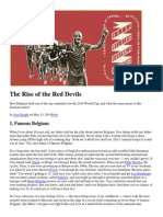 The Rise of the Red Devils