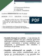 Democracia I