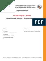 CBSP-IT 009-2011 - Compartimentação Horizontal e Compartimentação Vertical