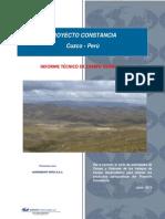 Informe Tecnico de Campo Proyecto Constancia