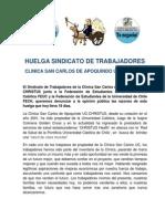 Comunicado de Prensa 23 de Julio de 2014