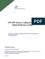 OWASP Guia de Referencia Rápida