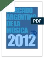 CAPIF Informe de La Industria de La Música 2012