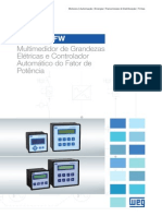 WEG Controlador Pfw e Multimedidor Mmw 50025399 Catalogo Portugues Br
