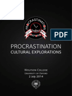Procrastination Oxford brochure