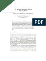 Spectral Methods for General Mixture Models