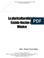 Pluriculturalidad y Estado Nacion en Mexico