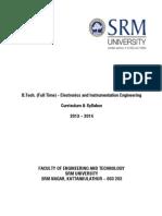 Srmuniv.ac.in Sites Default Files Files Btech Syll Elec-Instru r2013-14