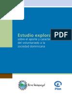 Estudio Exploratorio Voluntariado Web