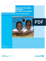 UNICEF's Experience in the Area of Legislative Reform--A Review of Selected Countries