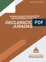 2013 Infracciones Frecuentes Con Ddjjs