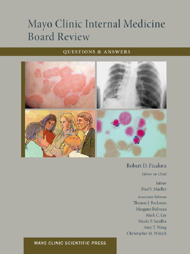 Mayo Clinic Internal Medicine Board Review Questions & Answers