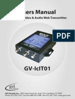 Gv Icit01 Manual
