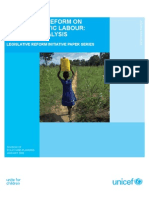 Legislative Reform on Child Domestic Labour--A Gender Analysis