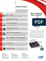 Why Use Solid State Switching Technology Handout - Crydom
