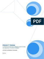 Project Tirana A STUDY ON THE PAST, PRESENT AND FUTURE OF ALBANIAN AVIATION MARKET