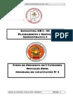 Gb i 02 Planeamiento y Gestion i Prog 5 2009 10