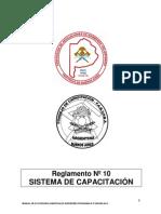 GB III 7 ASIGNATURA III 5 Reglamento Del Sistema de Capacitación