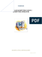 Instalasi Client Atau Komputer Baru