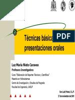 Tecnicas Basicas Para Presentaciones Orales