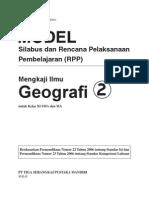 RPP Mengkaji Geografi SMA2