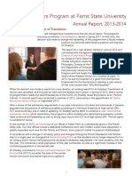 Honors Annual Report 2014