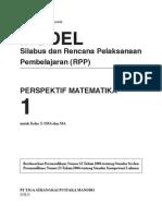 RPP Perspektif Matematika SMA1