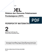 RPP Perspektif Matematika SMA2 IPA