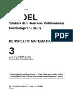 RPP Perspektif Matematika SMA3 IPA
