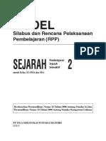 RPP Sejarah Interaktif SMA2